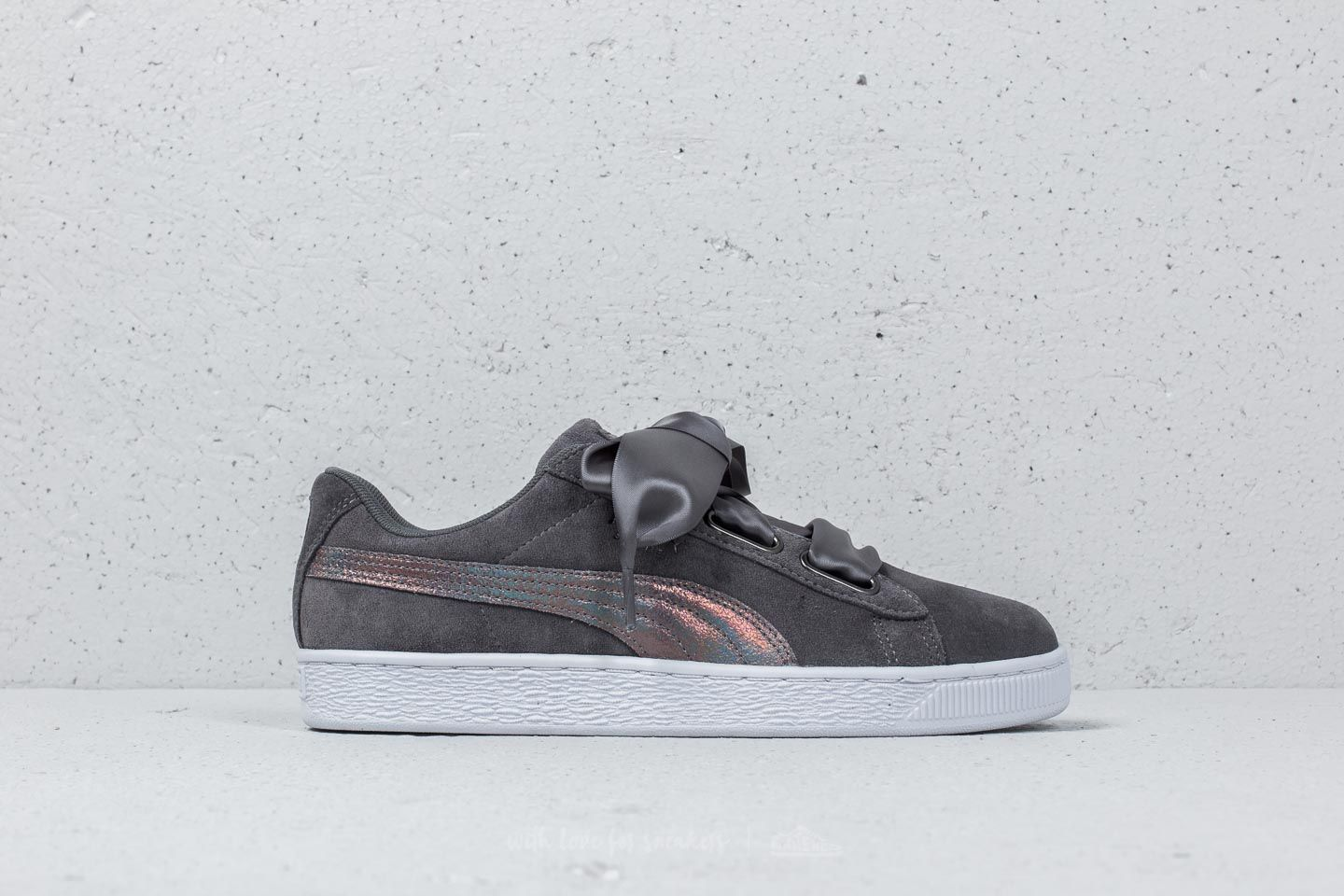599a575c928 Puma Suede Heart LunaLux Wn s Smoked Pearl at a great price £67 buy at  Footshop