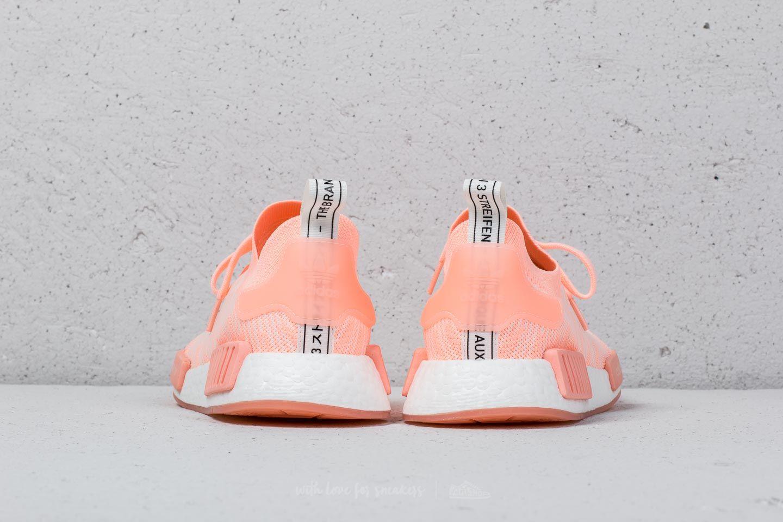 best loved 77c48 69ac8 adidas NMD R1 STLT Primeknit W Clear Orange  Clear Orange  Cloud White a  muy buen