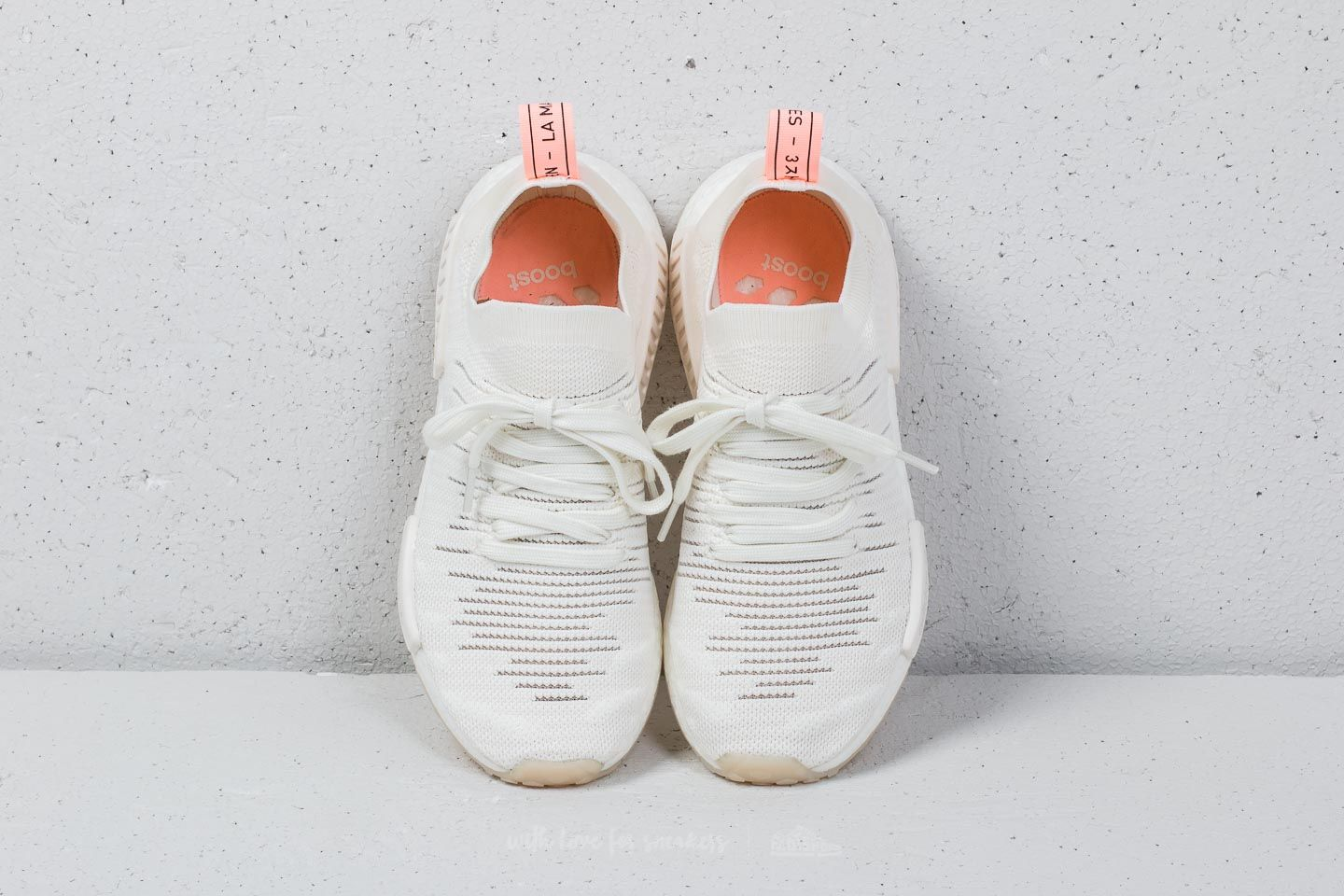 Adidas Nmd R1 Stlt Primeknit W Cloud White Cloud White Clear