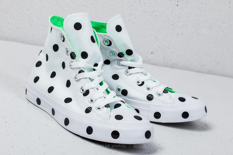 Converse Chuck Taylor All Star Hi White Black Illusion Green | Footshop