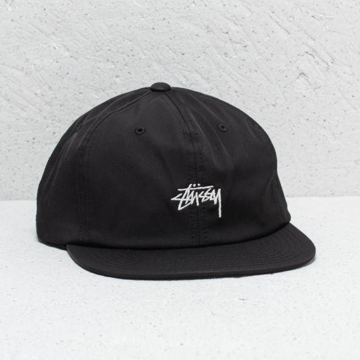 304d88e625b Stüssy Stock Poly Cotton Cap Black