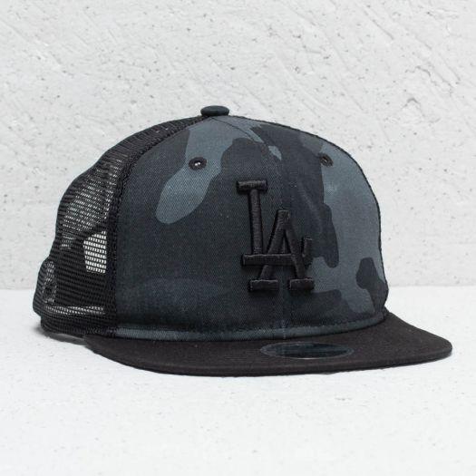 New Era 9Fifty Youth MLB Los Angeles Dodgers Trucker Washed Camo   Footshop f0f707254f