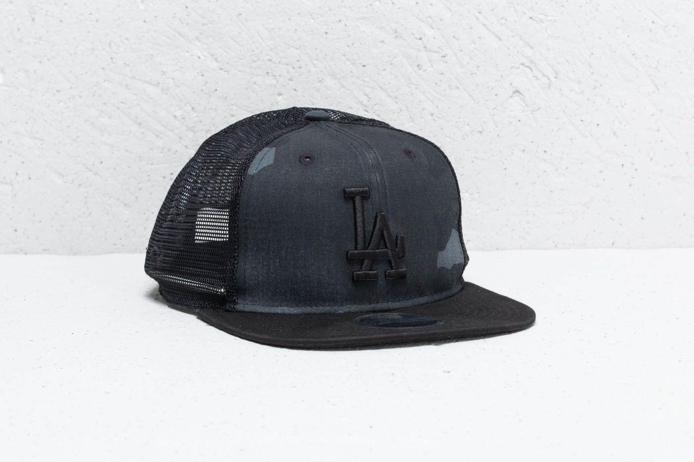 New Era 9Fifty MLB Los Angeles Dodgers Cap Black Camo