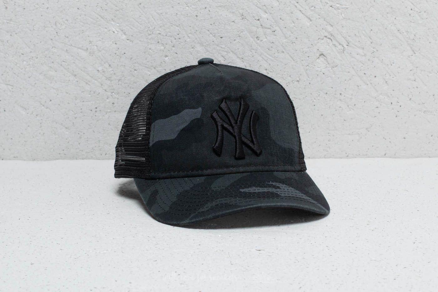 96d23f61d New Era Youth 9Forty MLB New York Yankees Trucker Black Camo | Footshop