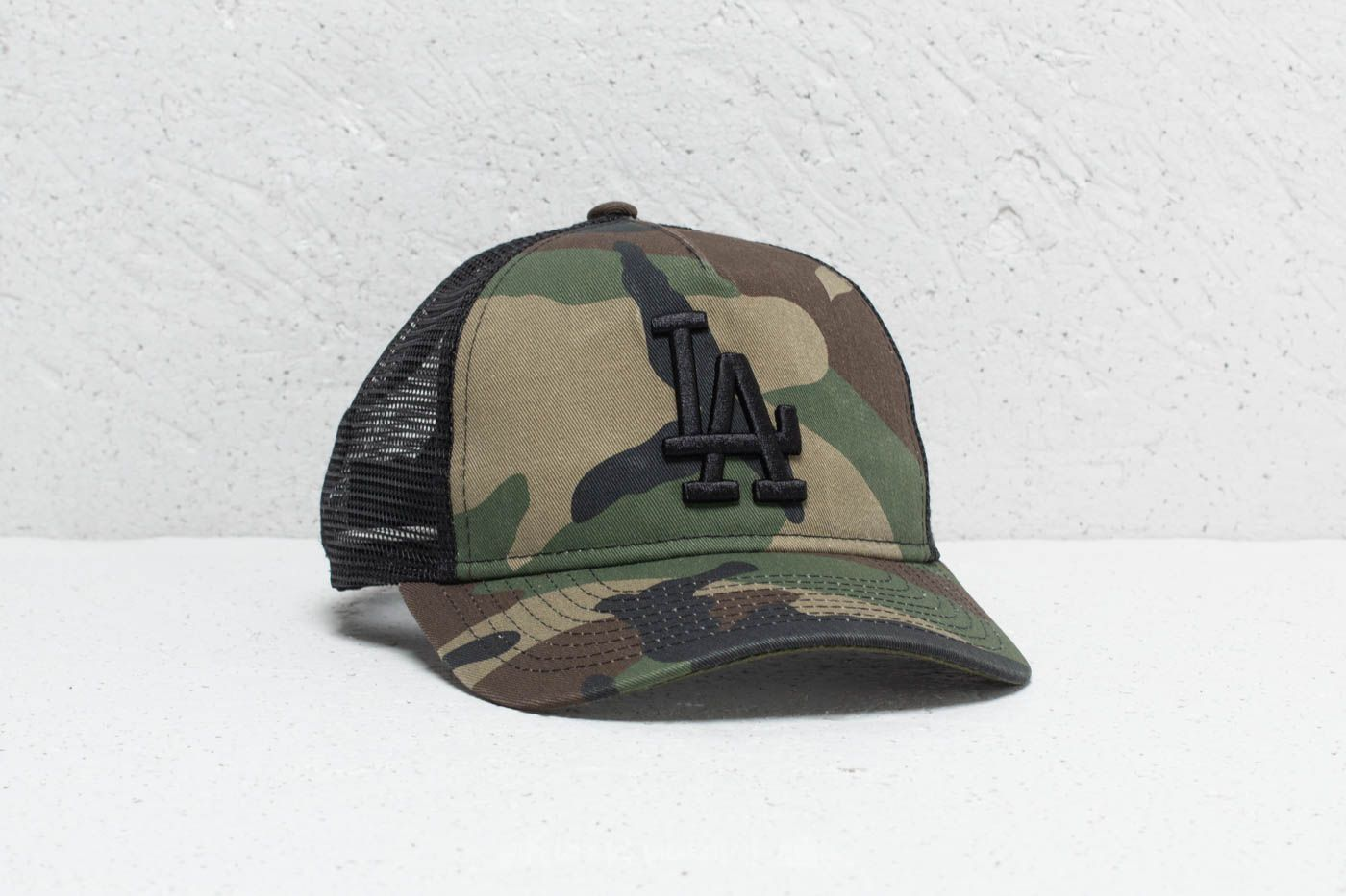 New Era 9Forty Youth MLB Los Angeles Dodgers Trucker Camo   Footshop be4d2aa8a9