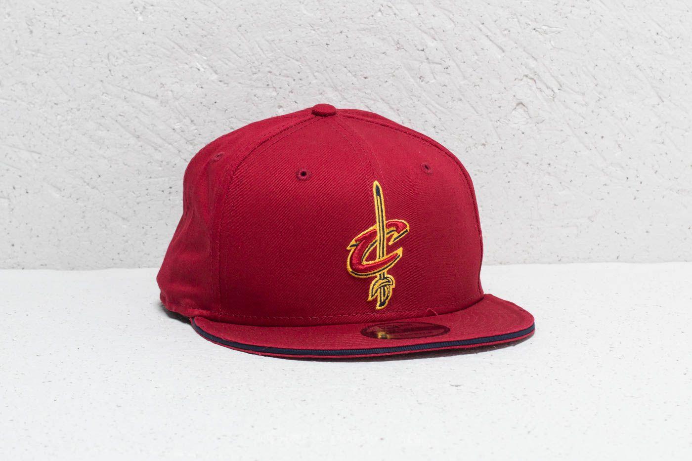 New Era 9Fifty NBA Cleveland Cavaliers Cap Red za skvělou cenu 459 Kč koupíte na Footshop.cz