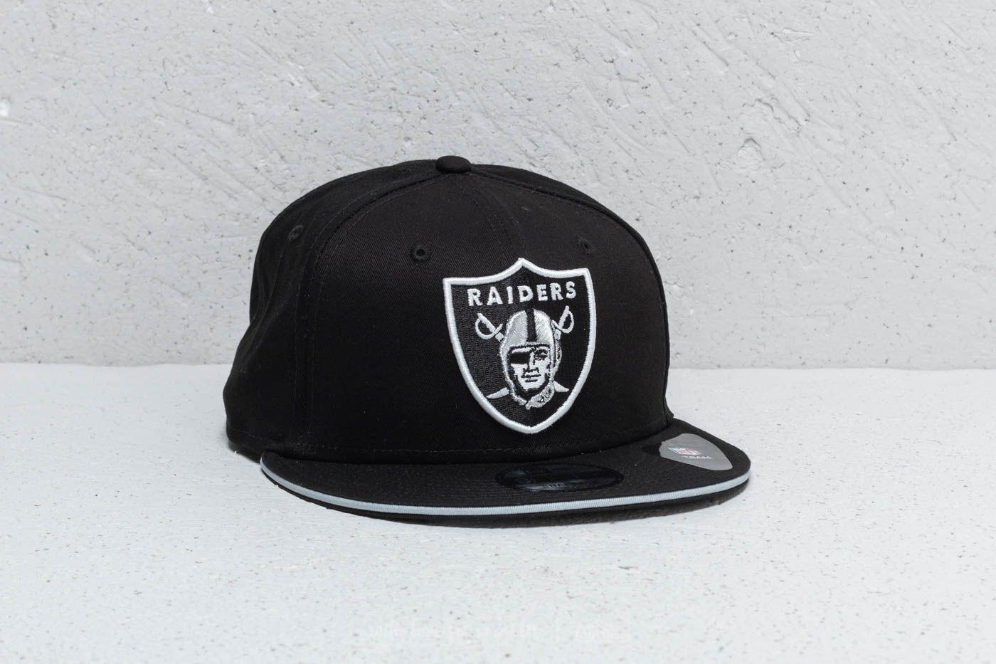 New Era 9Fifty NFL Oakland Raiders Cap Black  505bfec7ccd