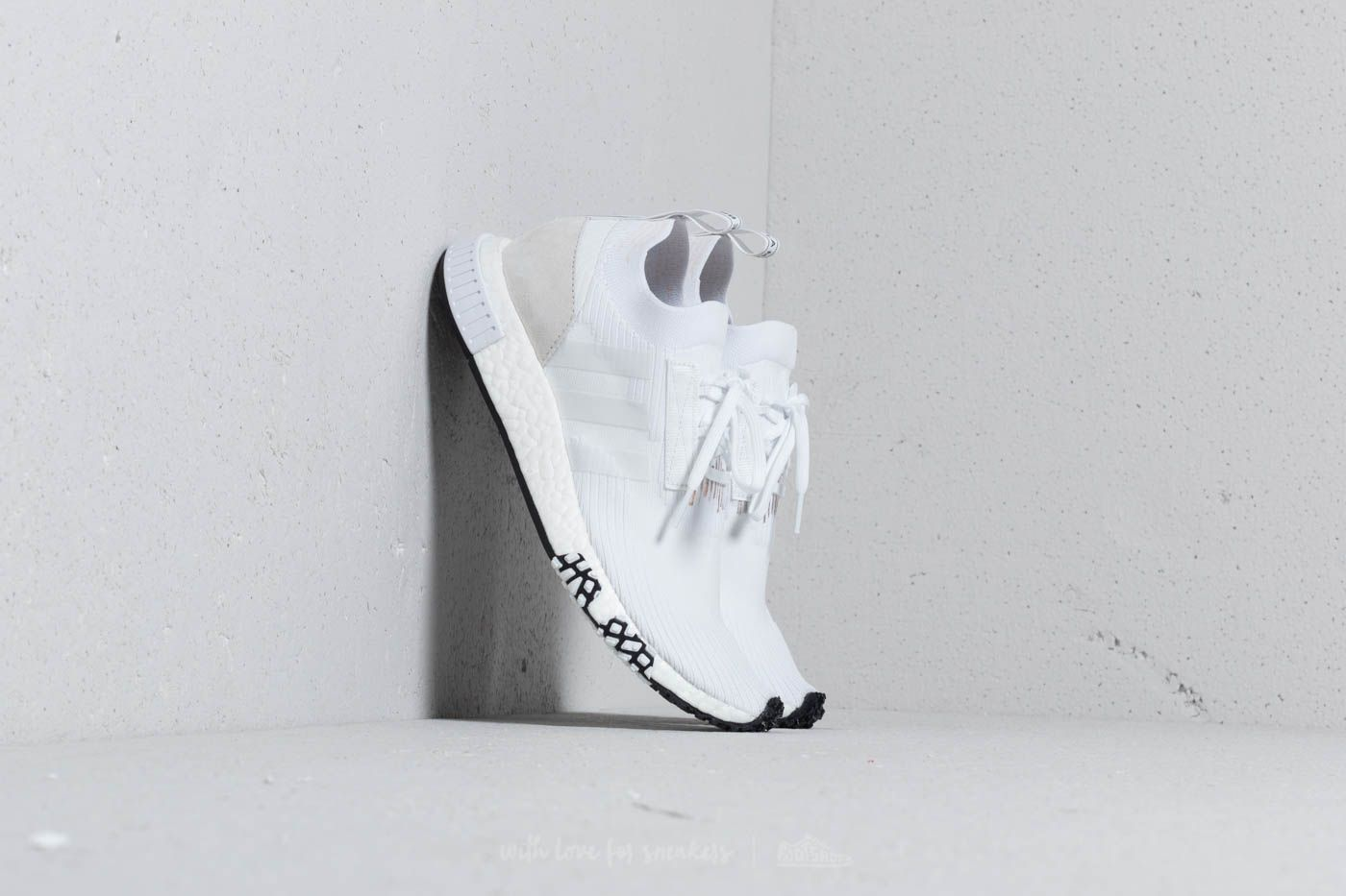 adidas NMD_Racer Primeknit Ftw White/ Ftw White/ Ftw White at a great price $143 buy at Footshop