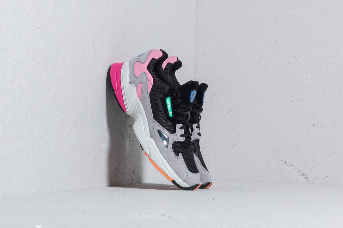 adidas Falcon W Core Black Core Black Light Granite | Footshop