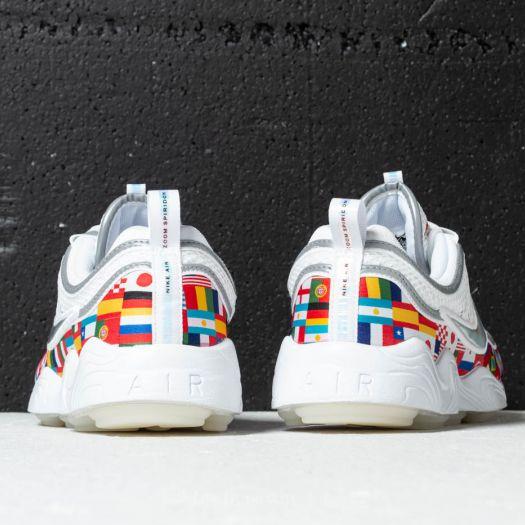 Nike Air Zoom Spiridon '16 NIC QS White Multi Color | Footshop