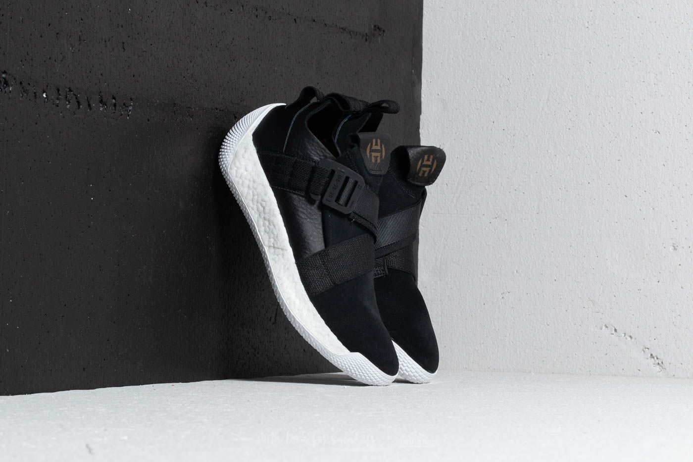 7d92868b1eb0 adidas Harden LS 2 Buckle Core Black  Ftw White  Gold Metalic at a great