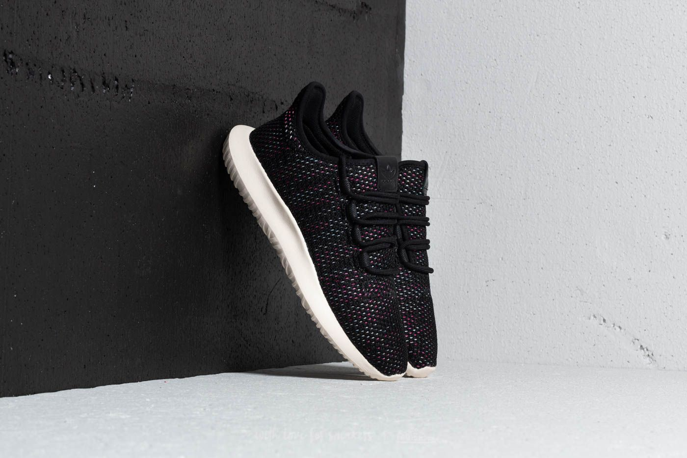 8c37cb33bfc adidas Tubular Shadow CK W Core Black  Chalk White  Shock Pink at a great