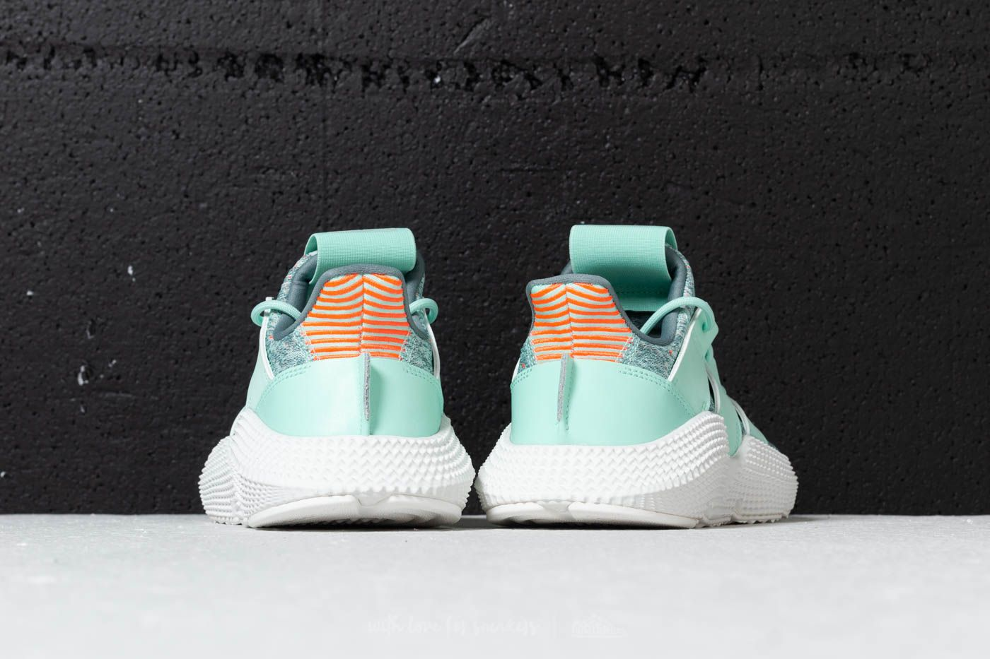 fc03e7d55c5de6 adidas Prophere W Clear Mint  Clear Mint  Solar Red at a great price £