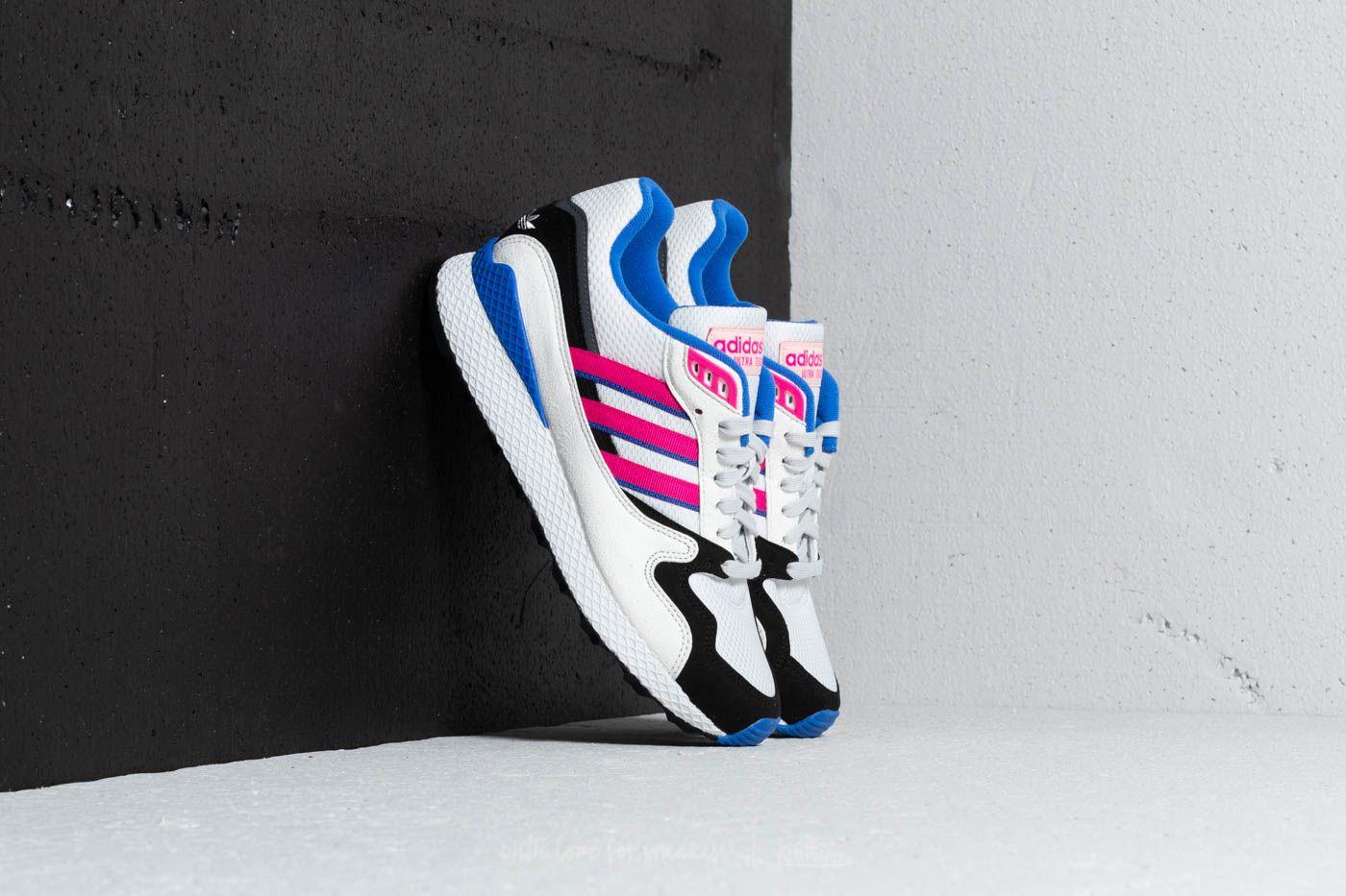 Pánské tenisky a boty adidas Ultra Tech Crystal White/ Shock Pink/ Core Black