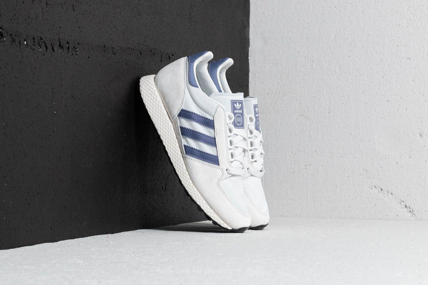 best service d85d2 6b51b adidas Forest Grove W. Crystal White Cloud White Core Black
