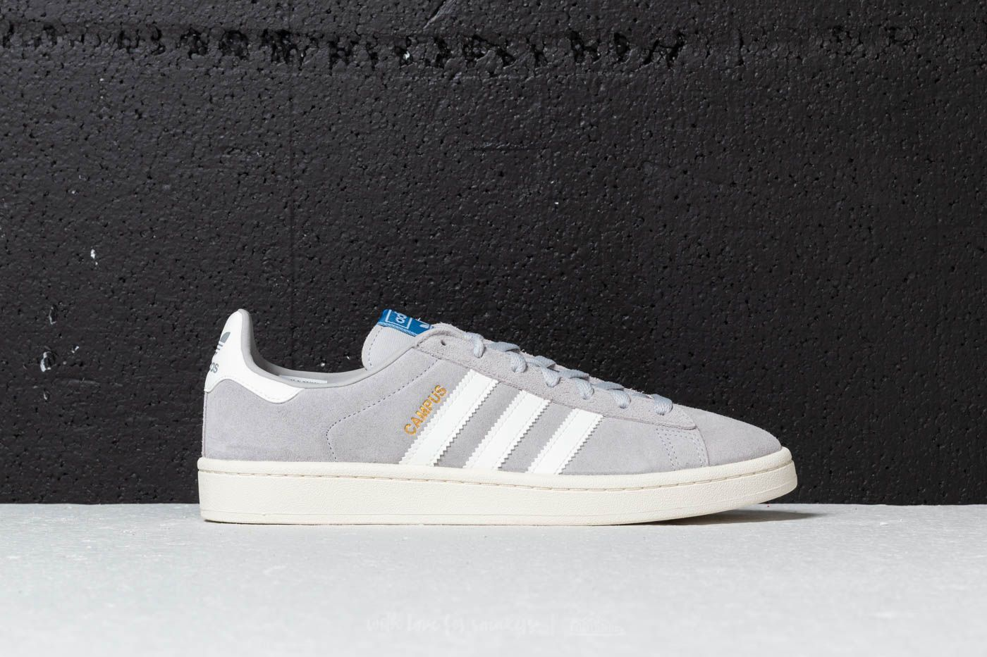 buy popular 3eb92 4b581 adidas Campus Grey Two Cloud White Chalk White at a great price 55 €