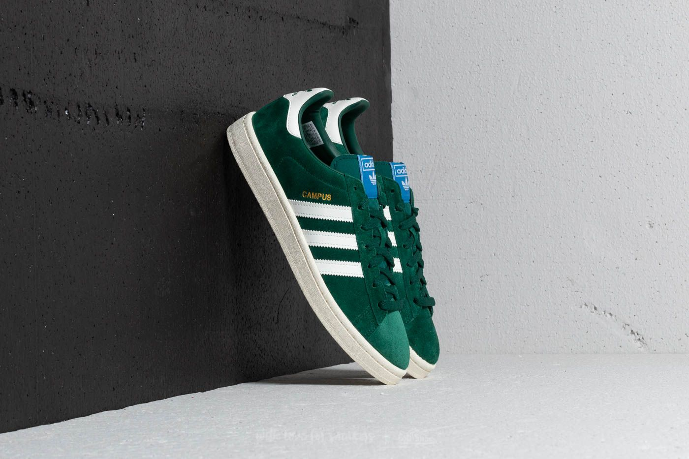 timeless design 067a5 009d0 adidas Campus. Collegiate Green Cloud White ...