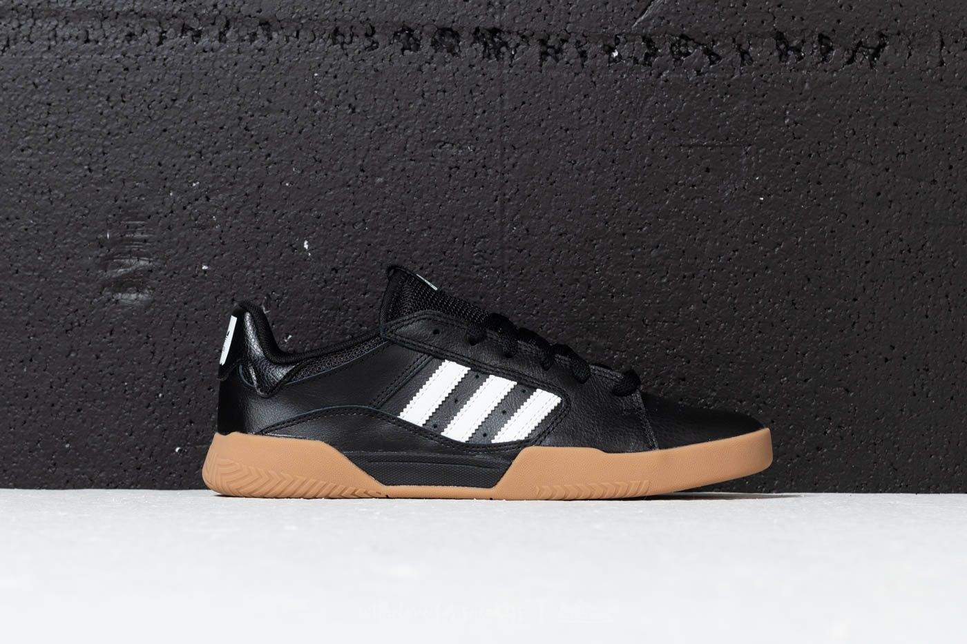 442a84cc4d278 adidas VRX Low Core Black  Ftw White  Gum 4 at a great price £
