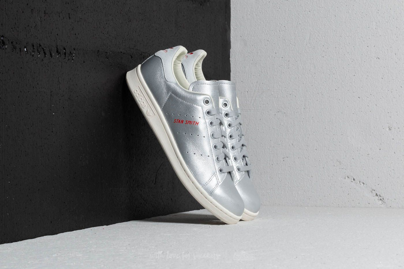 best cheap d48e9 df456 adidas Stan Smith W Silver Metal  Silver Metal  Blue Tint at a great price