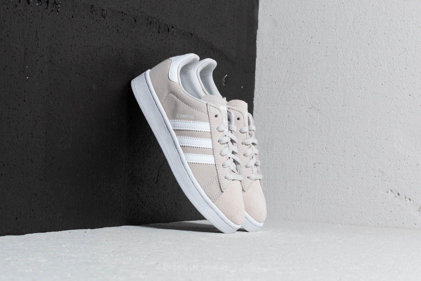 adidas Campus C Grey One/ Ftw White/ Ftw White za skvělou cenu 959 Kč koupíte na Footshop.cz