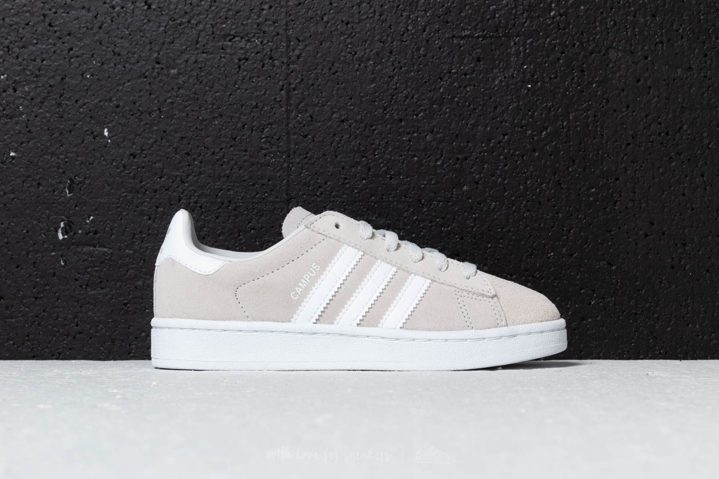 low priced 627c8 a9fb7 adidas Campus C Grey One  Ftw White  Ftw White at a great price 36