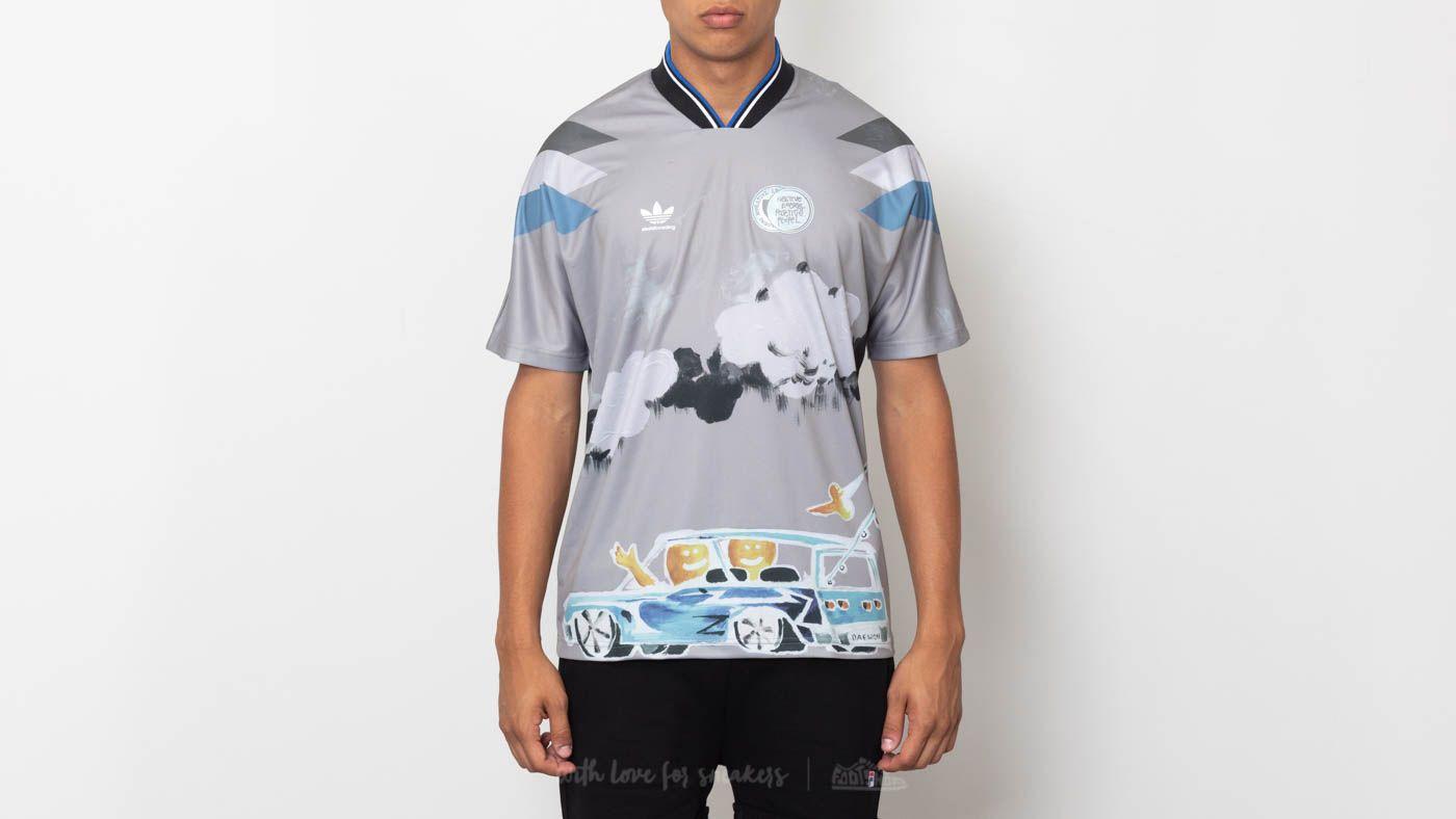 Daewon Chalk Grey Tee Adidas Solid Footshop Multicolor Jersey Swx6ccdqOz