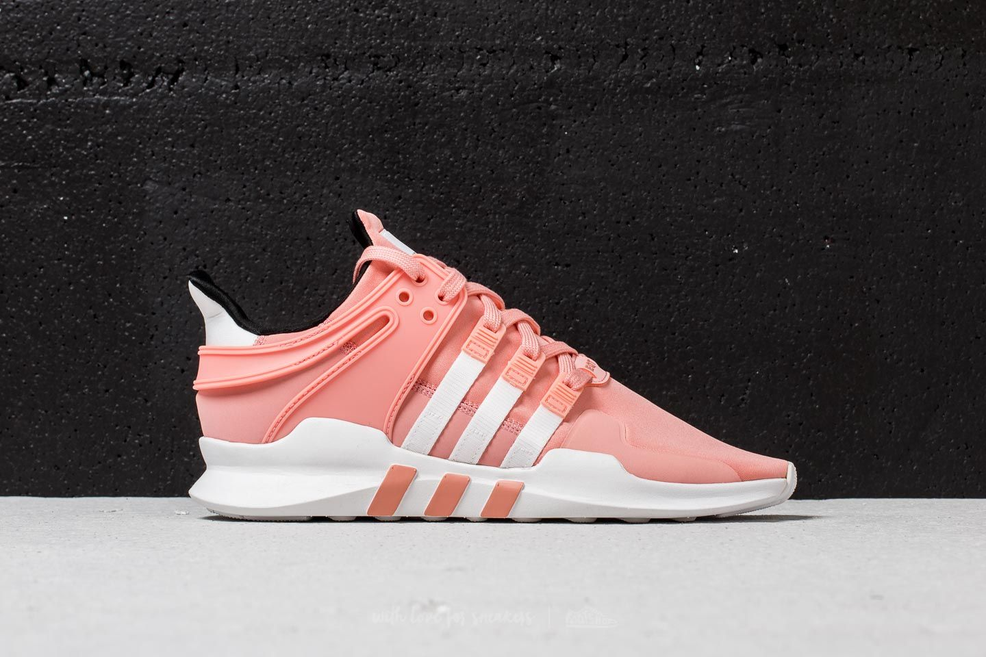 save off 23bbf 0a91b adidas EQT Support ADV Trace Pink Ftw White Core Black at a great price