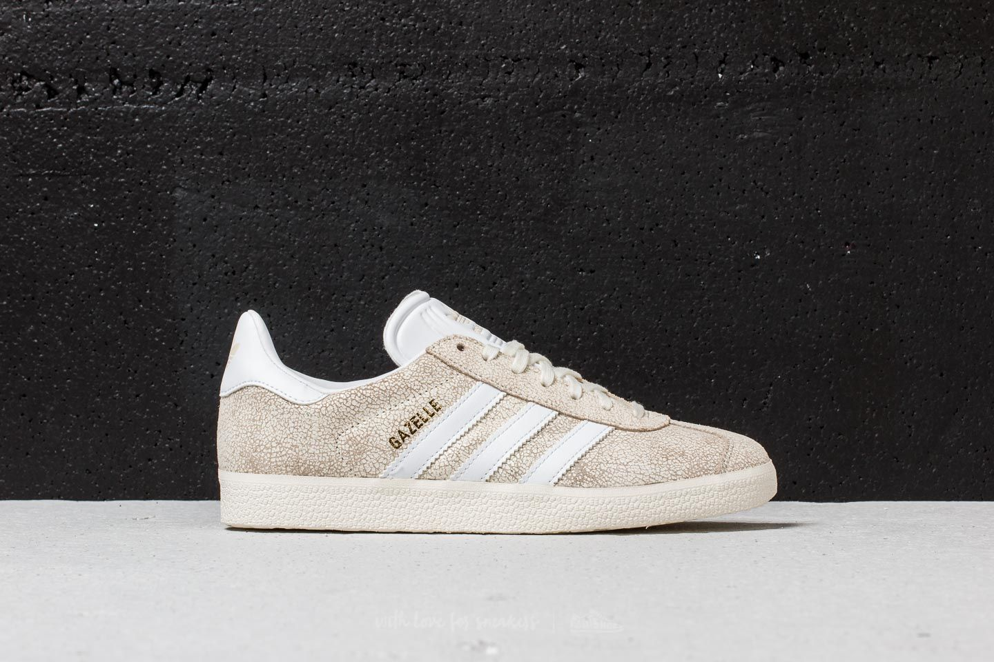 best sneakers 49be0 1bfa1 adidas Gazelle W Off White Ftw White Off White at a great price 63