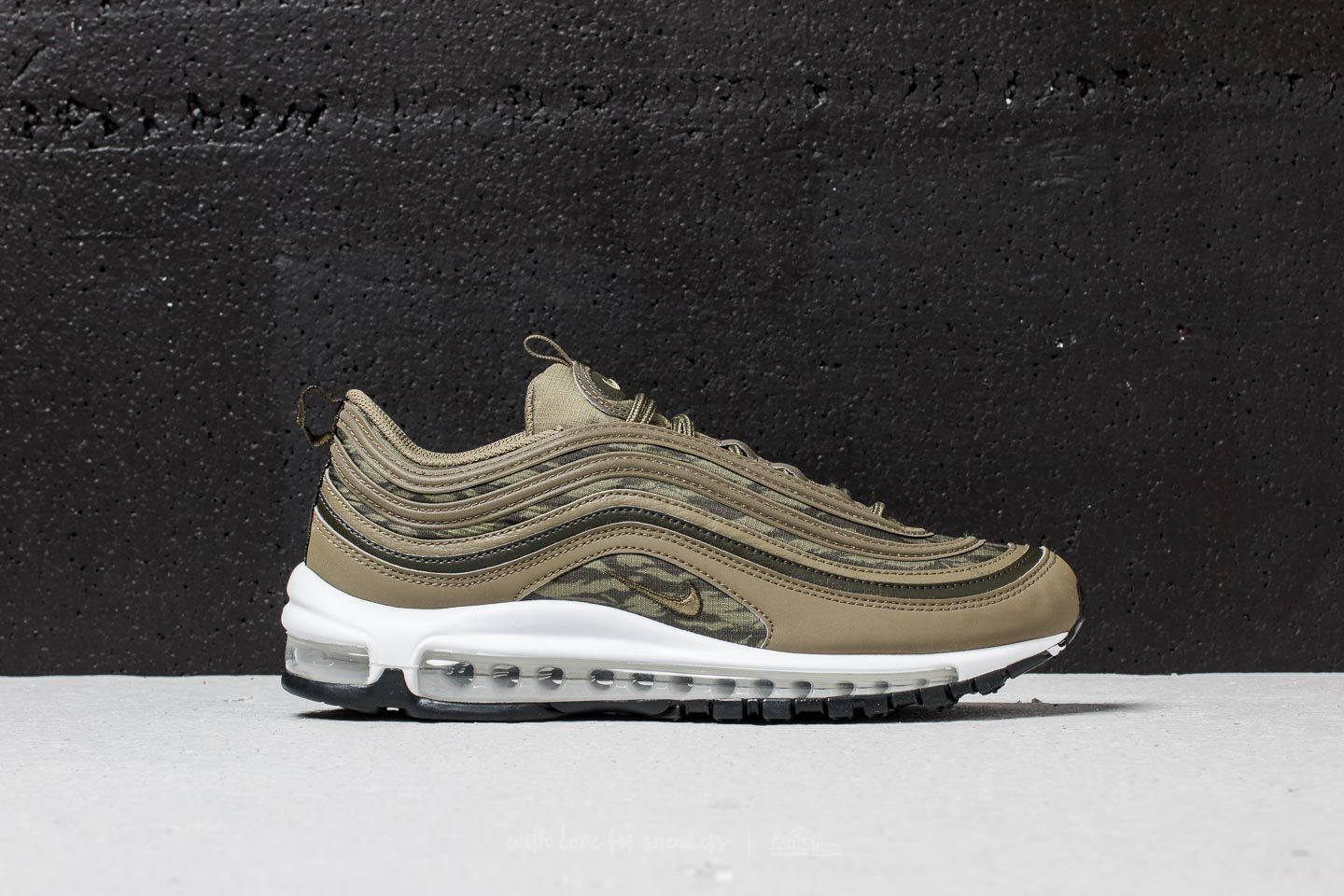 Nike Air Max 97 AOP Medium Olive  Medium Olive at a great price £156 aa179be5ce58