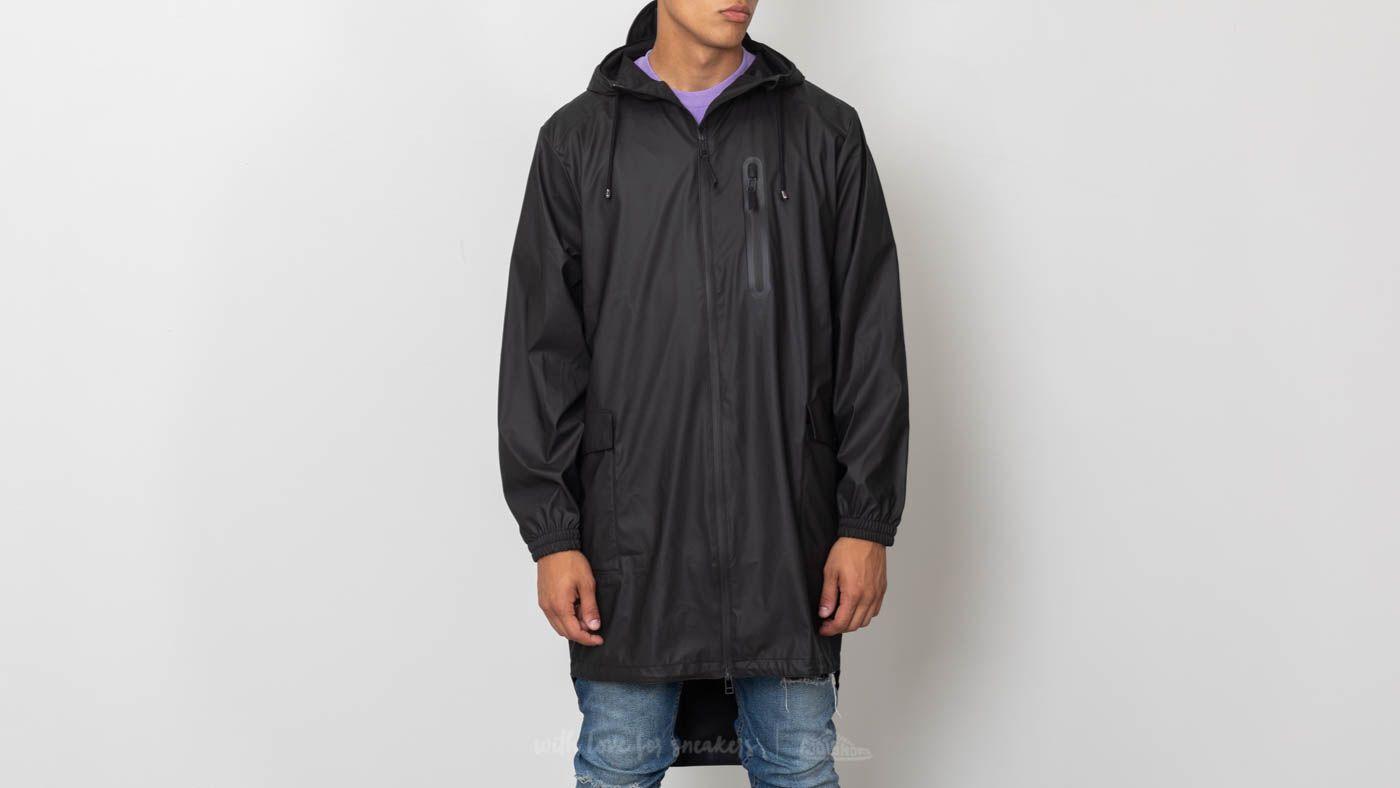 Rains Parka Coat Black za skvělou cenu 2 640 Kč koupíte na Footshop.cz