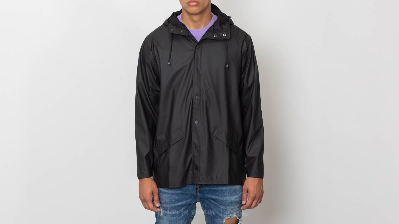 Rains Jacket Black za skvělou cenu 2 090 Kč koupíte na Footshop.cz