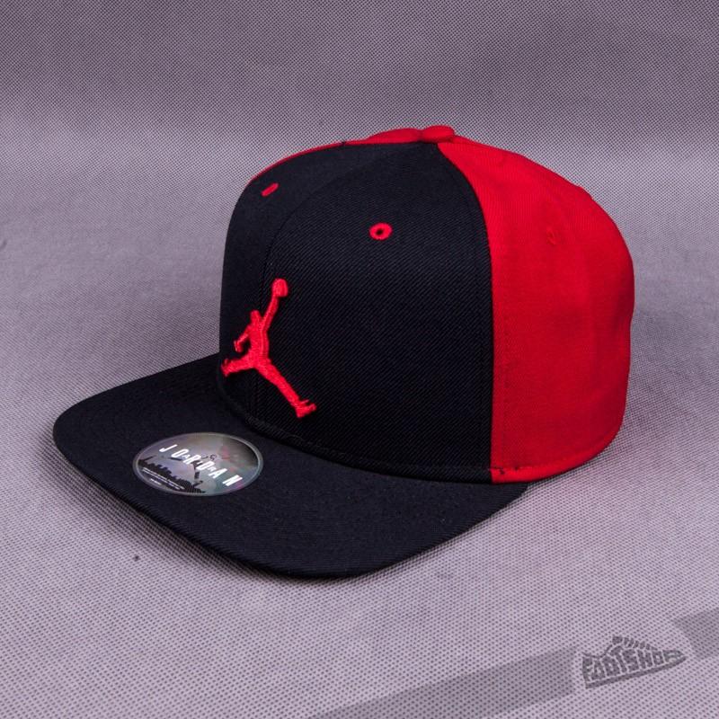 4e87e26c665b ... 50% off jordan jumpman snapback black red 02623 d3eb2