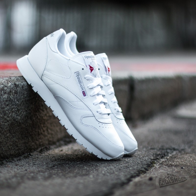 2dfab23819a Reebok Classic Leather White