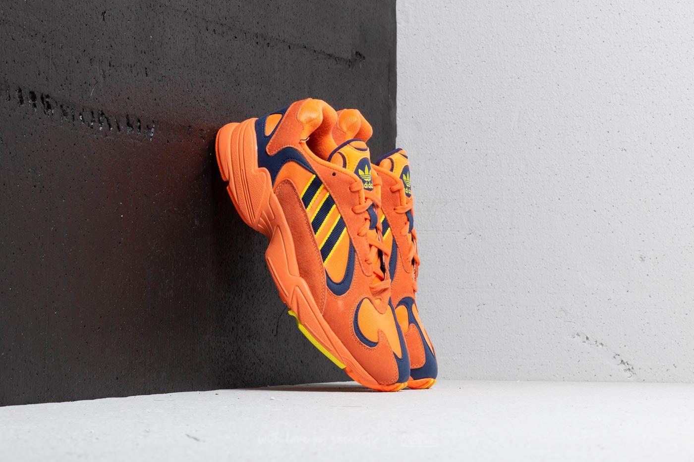 e435d164bf7 adidas Yung 1 Hi-Res Orange  Hi-Res Orange  Shock Yellow at