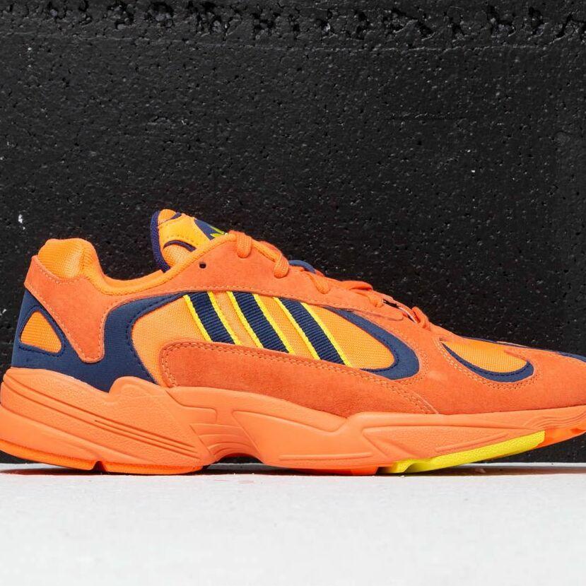 adidas Yung 1 Hi-Res Orange/ Hi-Res Orange/ Shock Yellow