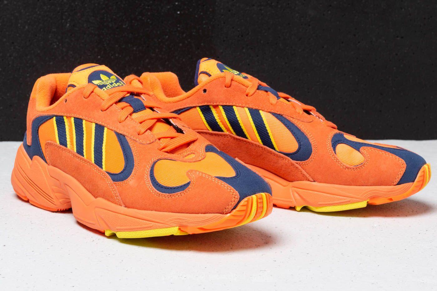 adidas Yung 1 Hi-Res Orange  Hi-Res Orange  Shock Yellow at 683e433a87