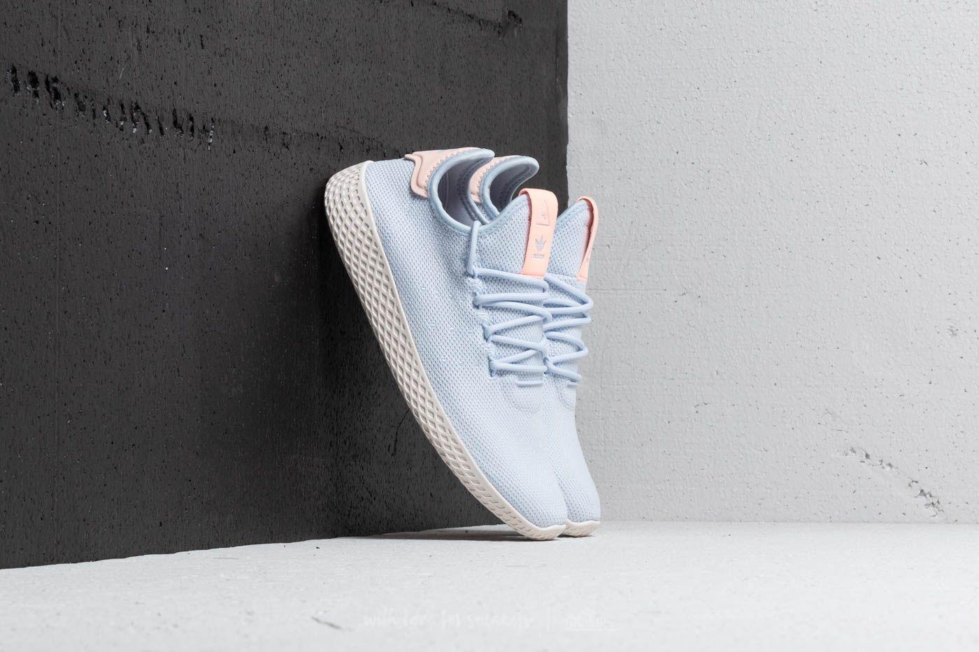 dc4740d540d84 adidas Pharrell Williams Tennis HU W Aero Blue  Aero Blue  Chalk ...