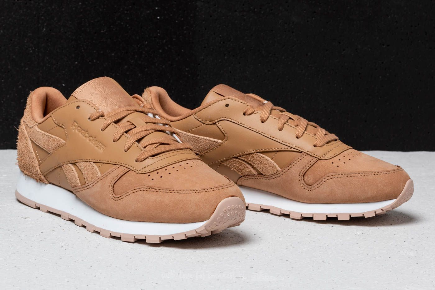 Reebok Classic Leather Soft Camel Bare Beige White | Footshop