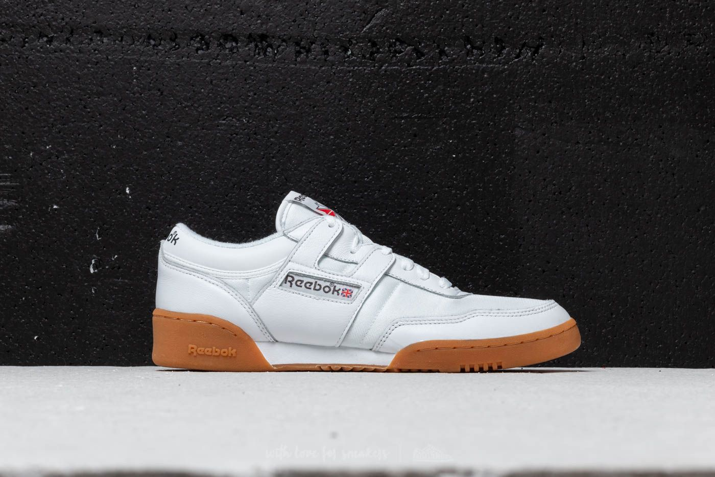 8cc9192a148 Reebok Workout 85 TXT White  Grey  Red  Gum at a great price 60