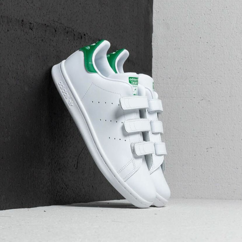 adidas Stan Smith CF C Footwear White/ Green EUR 35