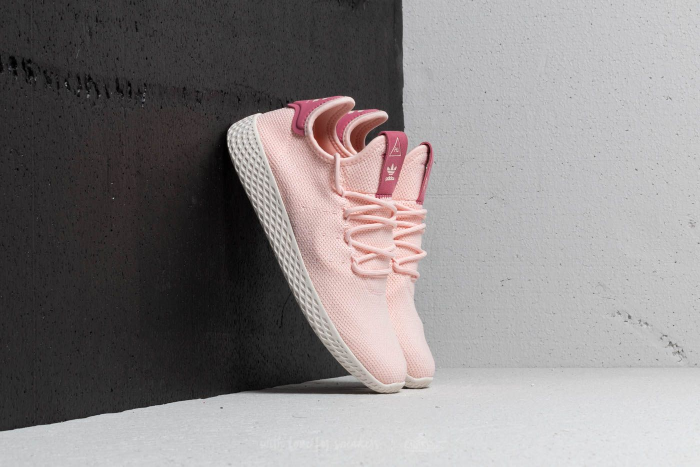 a253faf075957 adidas x Pharrell Williams Tennis HU W Icey Pink  Icey Pink  Chalk ...