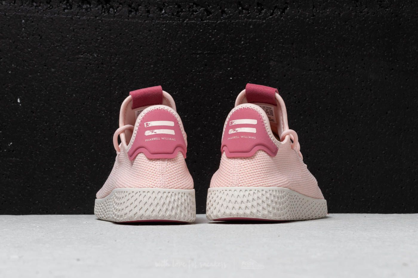 adidas x Pharrell Williams Tennis HU W Icey Pink Icey Pink Chalk White | Footshop