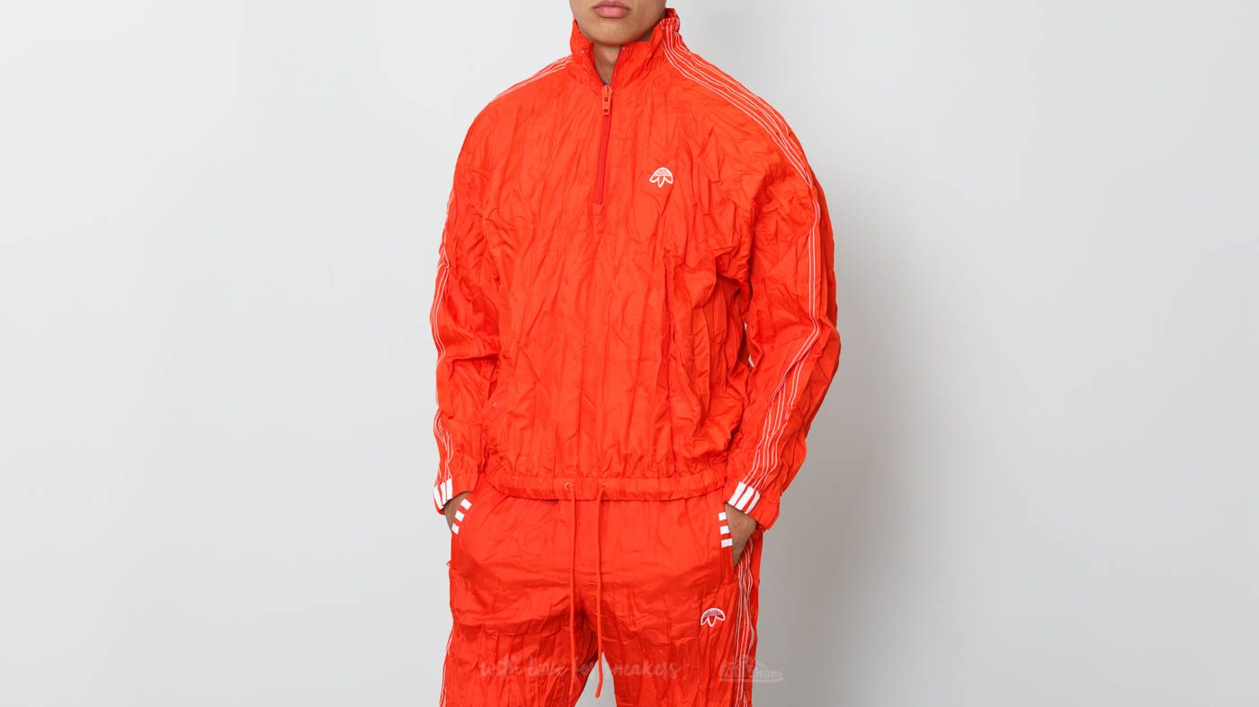 adidas x Alexander Wang Windbreaker Bold Orange/ White