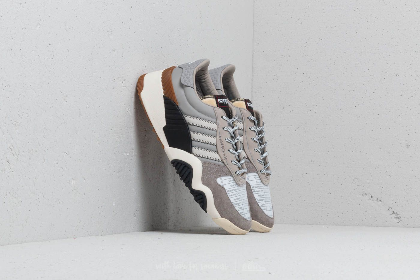 adidas x Alexander Wang Turnout Trainer Light Grey/ Chalk White/ Core Black