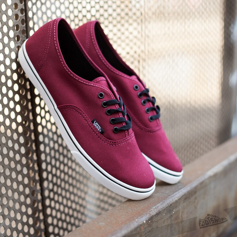 99d66383f2 Vans Authentic Lo Pro Tawny Port True White