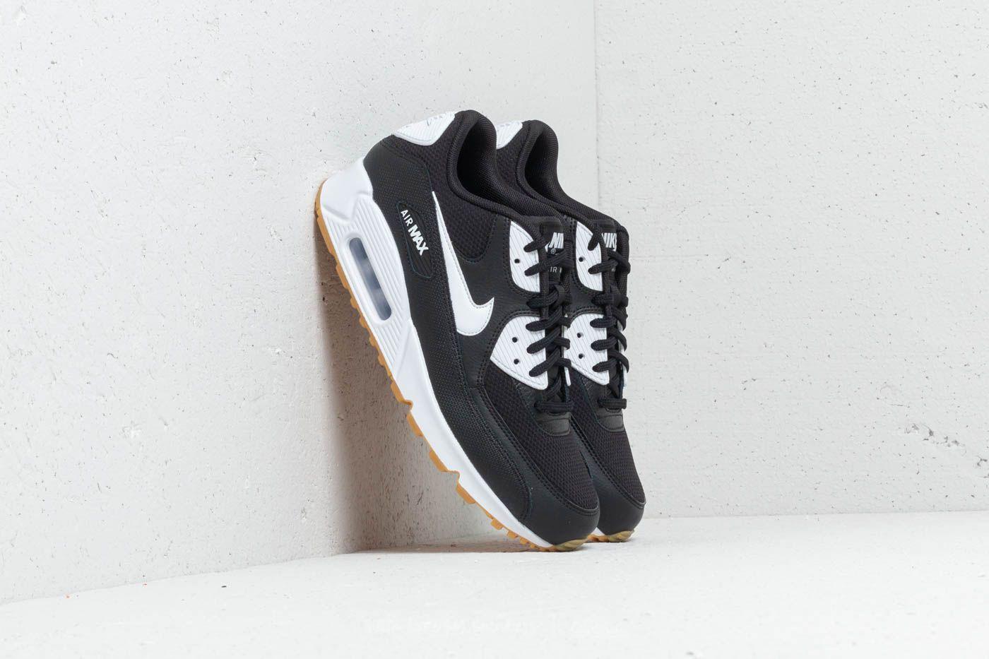 345e63b07e Nike Wmns Air Max 90 Black/ White-Gum Light Brown | Footshop