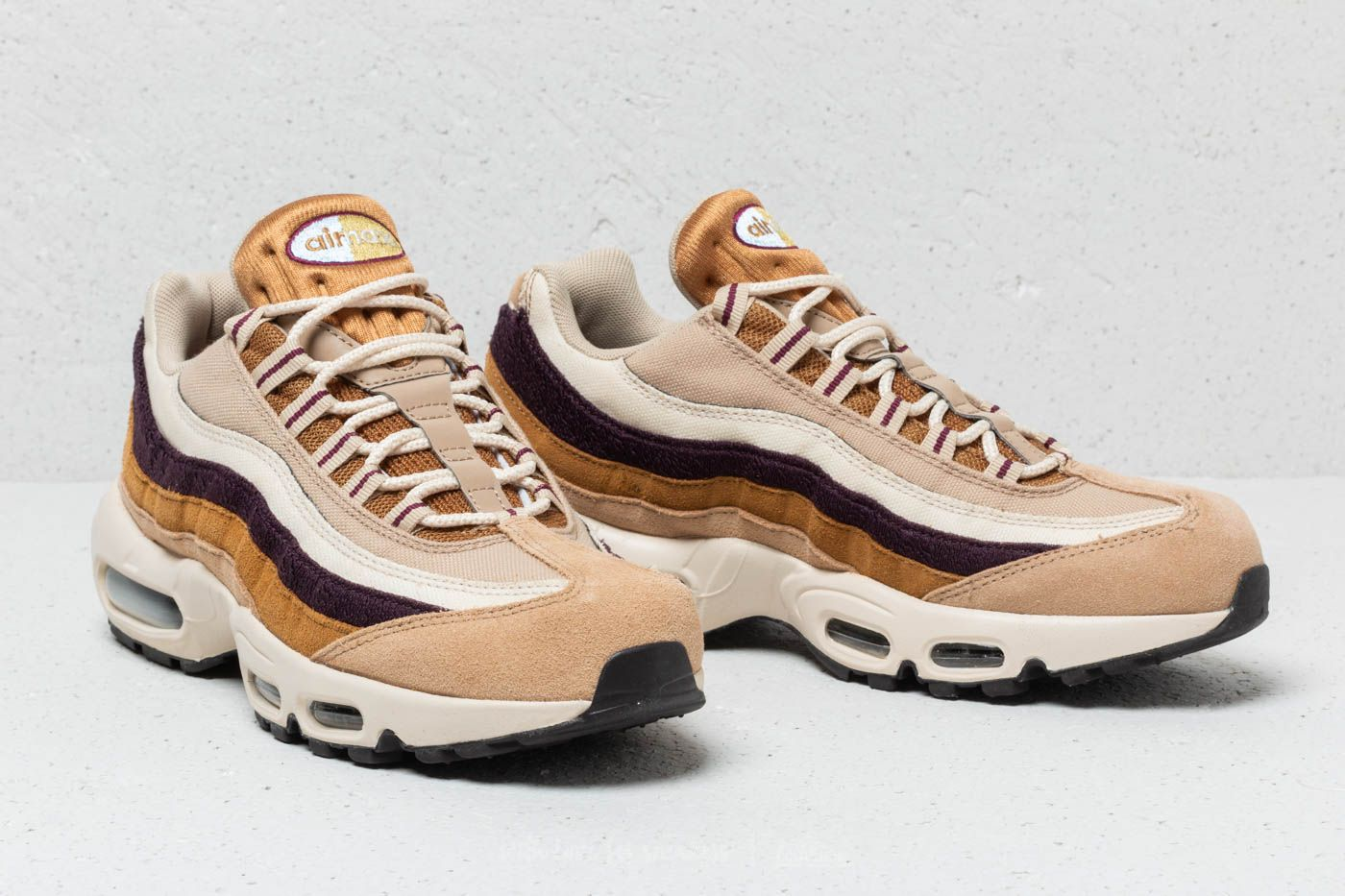 timeless design b5390 f76f6 Nike Air Max 95 Premium Desert/ Royal Tint-Camper Green ...