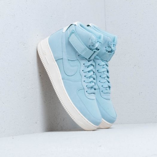 Nike Air Force 1 High ´07 Suede Ocean Bliss  Ocean Bliss-Sail  31c5fd21ff22