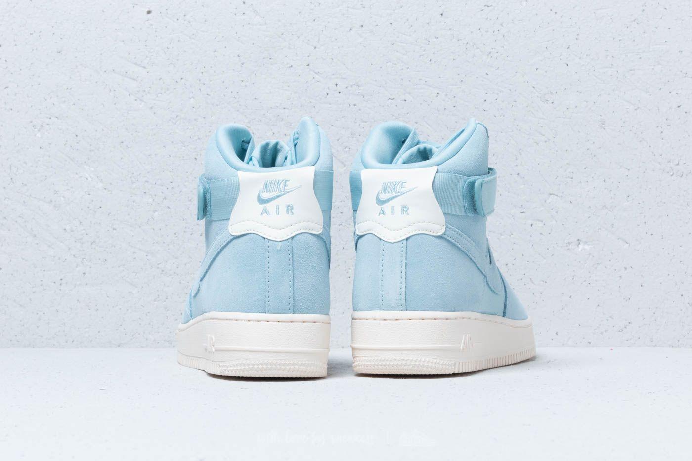 Cheap Men's Nike Air Force 1 High Shoes Baby Blue AQ8649 400