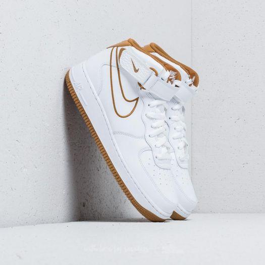 Scarpe e sneaker da uomo Nike Air Force 1 ´07 QS White